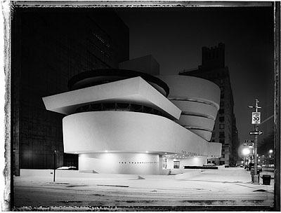 Solomon R. Guggenheim Museum 2009Pigment Fine Art Print 101,6 x 142,4 cm© Christopher Thomas