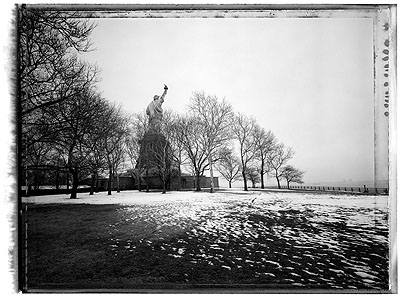 Statue of Liberty 2008Pigment Fine Art Print 56 x 76 cm© Christopher Thomas