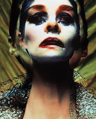 Charlotte Rampling Vogue Italia 1992© Michel Comte, I-Management courtesy acte2galerie