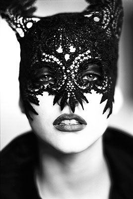 Mask, Paris, 1991 © Ellen von Unwerth courtesy Michael Hoppen Gallery