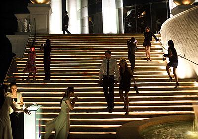 Treppe zum Restaurant the Dome, C-Print, 2005-2008
