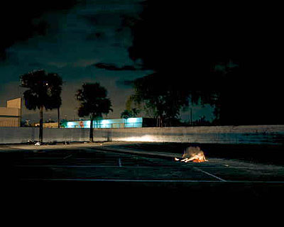 Nocturnal # 16 48x 60 inch edition of 620x25 inch edition of 9 Cromogenic prints on Kodak Ultra Endura paper