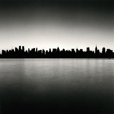 © Michael Kenna. Manhattan Skyline, Study 1, New York, USA, 2006.