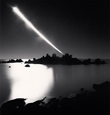 © Michael Kenna. Full Moonset, Chausey Islands, France, 2008