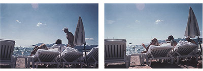 EVE SONNEMANLA PLAGE DU CARLTON A CANNES, 2007digitally printed color photograph on Japanese paper, Ed. of 1020 x 30 in. | 50.8 x 76.2 cm.
