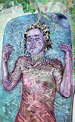 'OPHELIA': Alderley Edge(After-image) 2008150 x 90 cm, C-Print