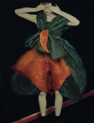© Sarah Moon, Teresa Stewart for Issey Miyake, 1995, Color pigment print, 74 x 57 cm, Edition of 15