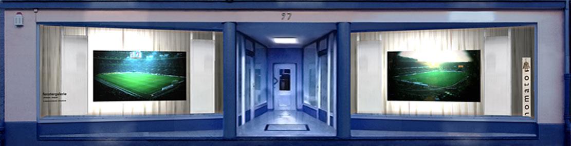 Simulierte Ansicht der FenstergalerieRoland Wirtz - Immediatus