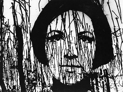 Edward Hartwig, Porträt einer Freundin, 70er © Moonblinx Gallery