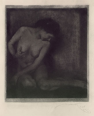 Frantisek DrtikolAktstudie (ca.1914)Vintage, Pigmentdruck, signiert, 27,2 x 23,7cm Startpreis: 4.500 EURSchätzpreis: 6.000 - 8.000 EUR