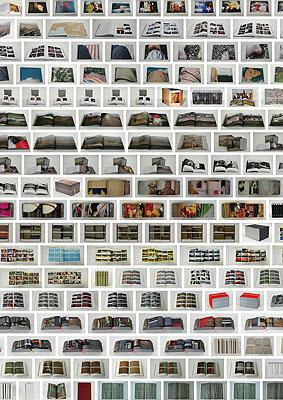 Katharina Gaenssler Ansicht Buchwerke Katharina Gaenssler (Auswahl), 2000-2009 © Katharina Gaenssler