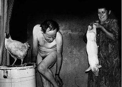 Grimaces of the Weary Village. 1998. © Rimaldas Viksratis. Courtesy: White Space Gallery Ltd