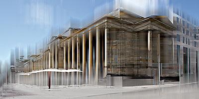 Königsbau2009, 80 x 160 cmLambdaprint/AcrylglasEd. 3 (+ 1 Artist Print)