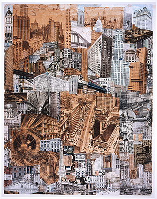 Paul Citroen (1896 — 1983), Metropolis, 1923, Photomontage, 76,1 x 58,4 cm, Special Collections, Leiden University Library, © Paul Citroen, Metropolis, 1923, c/o Pictoright Amsterdam 2010