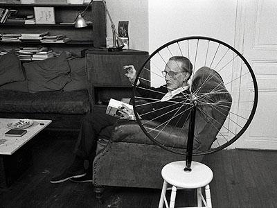 Vera Mercer, Marcel Duchamp, Paris c. 1960