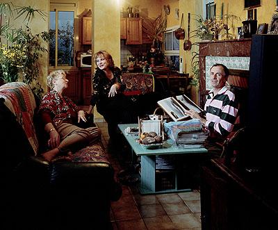 Homme au nu feminin, Man with nude woman, 2004