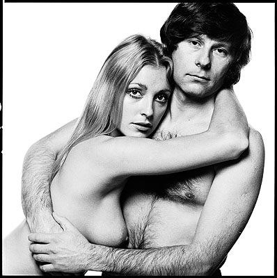 David BaileySharon Tate and Roman Polanski, 1969Platinum print, edition of 20