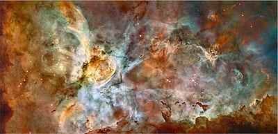 Hubble Space Telescope (NASA, ESA) Central Region of the Carina Nebula April 2007
