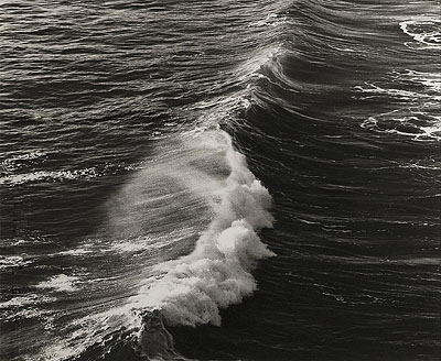Kirsten Klein, Atlantic Ocean Wave 1977 © courtesy of the artist