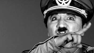 Morimura Yasumasa A Requiem: Laugh at the Dictator2007Single-Channel VideoCourtesy: ShugoArts, TokyoPhoto: Kishimoto Yasushi