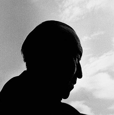 Konrad Adenauer am Rednerpult in Köln, 1966. © Konrad Rufus Müller