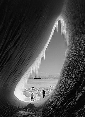 Grotto in Berg, January 1911©2009 Scott Polar Research Institute, University of Cambridge.