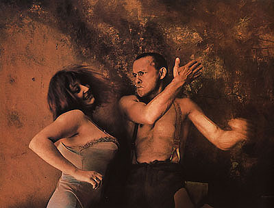 © Jan Saudek, A Slap in the Face, 1983Galerie Gambit