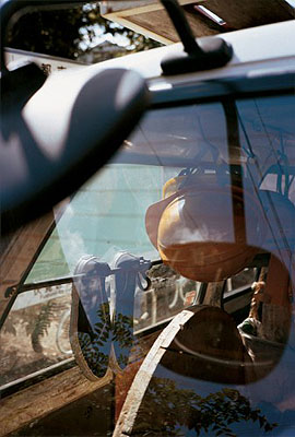 William Eggleston, KyotoLightJet print, 101.5 x 76 cm , 2001 Collection of the Fondation Cartier pour l'art contemporain © 2001 Eggleston Artistic Trust, Memphis