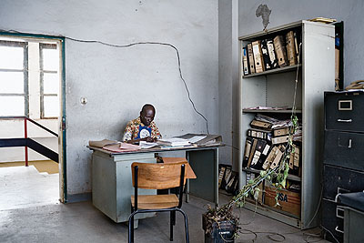 Guy TillimCity Hall offices, Lubumbashi, DR Congo, 20072007Archival pigment ink on cotton rag paper91.5 x 131.5 cmCourtesy Kuckei + Kuckei