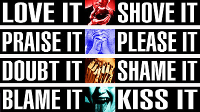 Barbara Kruger, Untitled (It), 2010 (details) courtesy of the Artist