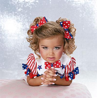 © Susan Anderson, Savanha Age 2, Nashville, Tennesseefrom the series High Glitz