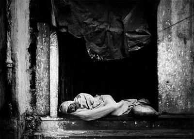 Barbara Klemm, Kalkutta, Indien, 1982, s/w-Foto, © Barbara Klemm, Frankfurt/Main