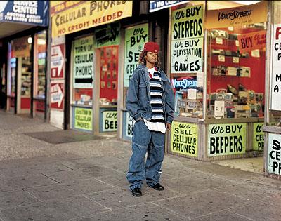 © Richard Renaldi Keturah, Newark, NJ 2001