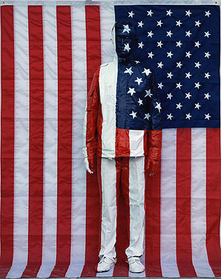 American national Flag, Digital C-Print, 118 x 150 cm, Edition of 8