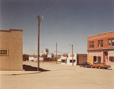 Lot 108 Stephen ShoreMain St., Gull Lake, Saskatchewan, 1974Colour print, signed and dated, 27.7 x 35.3cm£3,000-5,000