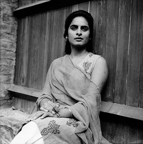 Nony SinghMy sister Guddi, posing as Scarlett O'Hara from Gone With the Wind, Srinagar, 1962Silver gelatin print25.4 x 25.4 cmCourtesy the Artist© Nony Singh