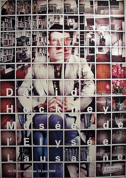 David Hockney - Photoworks Retrospective, 1999 © Musée de l'Elysée, Lausanne