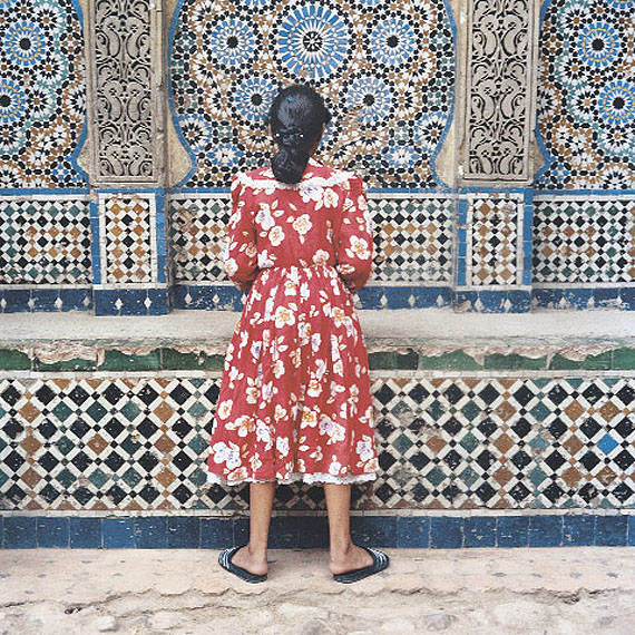 "Yto BarradaGirl in Red, Tangier from ""A Life Full of Holes: The Strait Project"", 1999C-PrintComments: © Yto BarradaFoto: Frank KleinbachCourtesy the artistGallery, Johannesburg"