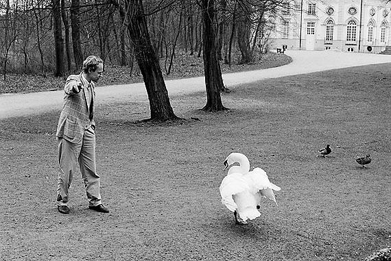 Joseph von Westphalen, München 1988 ©Isolde Ohlbaum
