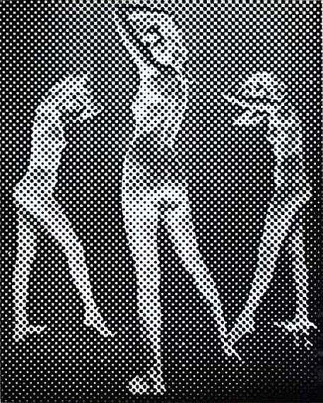 Untitled - New York, ca. 1952, vintage gelatin silver print, 50.8 x 40.4 cm