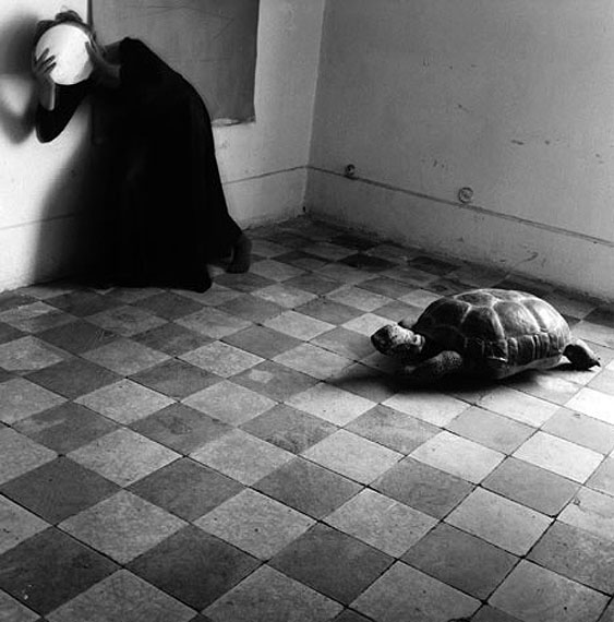 Francesca Woodman, Yet another leaden sky, Roma, maggio 1977-agosto 1978