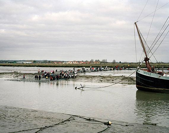 Simon Roberts Mad Maldon Mud Race, River Blackwater, Maldon, Essex, 30th December 2007