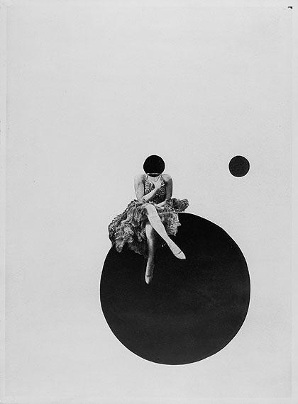 László Moholy-NagyDie Olly- und Dolly-Schwesternca. 1925Silbergelatineabzug einer Fotomontage37,4 x 27,5 cmThe J. Paul Getty Museum, Los Angeles© VG Bild-Kunst, Bonn 2010