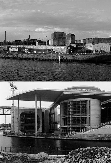 Stefan Koppelkamm: Berlin Blick vom Reichstagsufer auf die Charité 1991 Berlin Blick vom Reichstagsufer auf das Marie- Elisabeth-Lüders-Haus 2002
