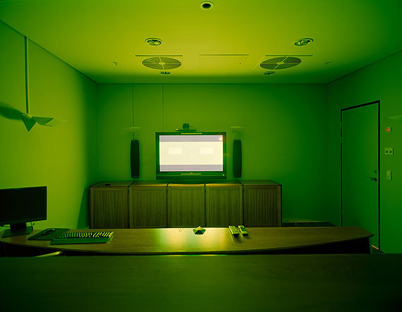 © André Wagner, Green, Chat, Lightjetprint, 2010
