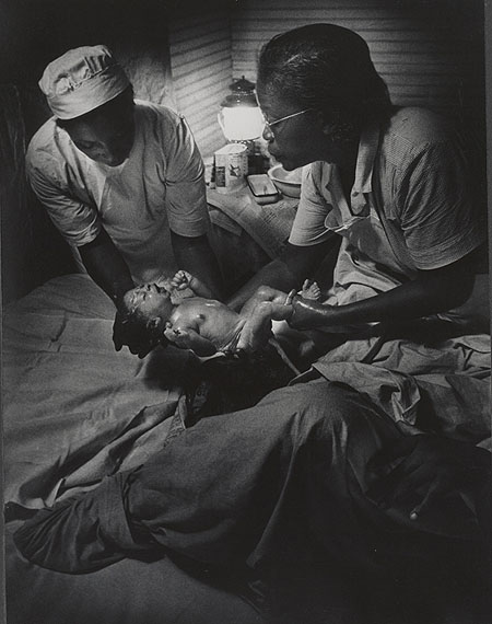Maude Delivery, Nurse Midwife, 1951 © The Heirs of W. Eugene Smith, courtesy Black Star