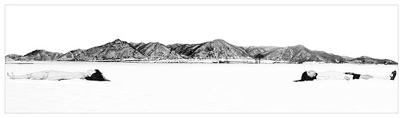 Existential Emptiness No 1, C-print behind plexi, 2009 © Cui Xiuwen