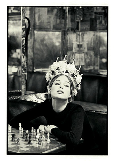 Meghan, London 1992Silver gelatin print50 x 60 cm ( 20 x 24 inches)Edition of 8© Marc Hispard