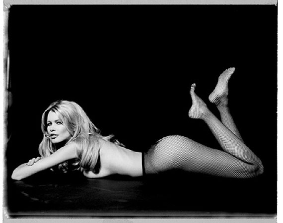 Claudia Schiffer, Vogue 1995Digital print120 x 150 cm (47 x 61 inches)Edition of 5© Marc Hispard