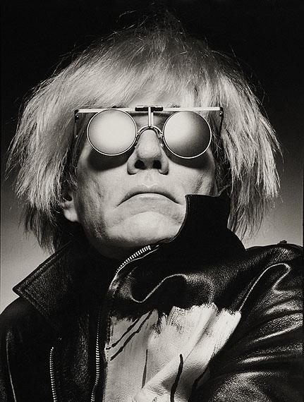 Albert Watson, Andy Warhol, New York City, 1983, Vintage Watson, courtesy of Hamiltons